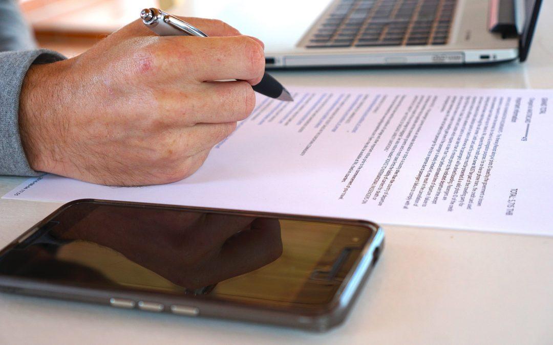 Secciones Más Importantes De Un Acuerdo De Sociedad Comercial